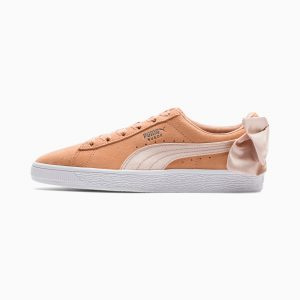 PUMA Suede Bow Wn's Orange
