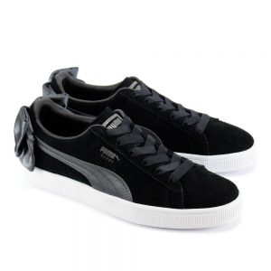 Puma Suede Bow Black