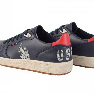 Sneakers U.S. POLO ASSN. Jackson Whi&Red