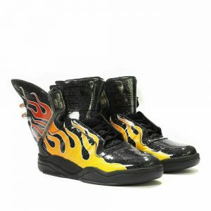Adidas x Jeremy Scott Shark Flame B26270